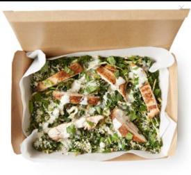 Leon Chicken Kale Ceasar