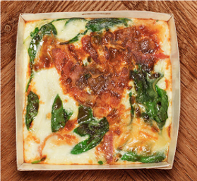 Pret BACON & SPINACH OMELLTE