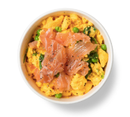 Super Eggs with Smoked Salmon by PURE