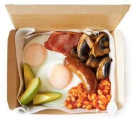Leon Big Breakfast Box