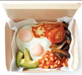 Leon Breakfast Veggie Box