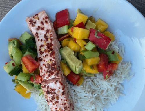 Leaner Life: Spicy Salmon & Mango Salsa