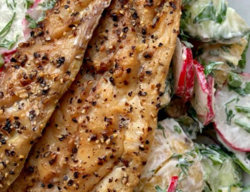 Leaner Life: Smoked Mackerel with Scandi Salad