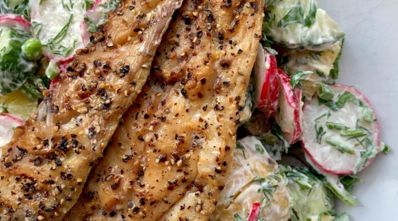 Mackeral Scadi Salad
